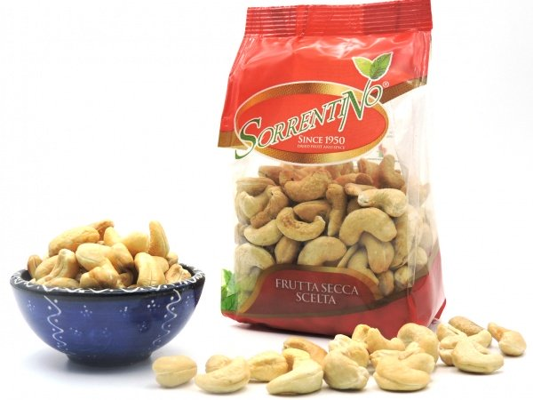 Cashew nuts Roasted and salted shelled FORMED BY 150GRAMS