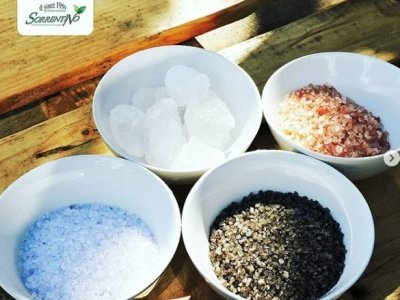 "Salts from the world  ""colors and flavors ""-Fruttaseccaesalute.it"